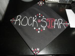 One of our awesome Rockstar caps. Photo credit my friend Lauren