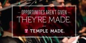 temple graduation
