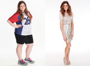 The Biggest Loser winner Rachel. Healthy or sickly?