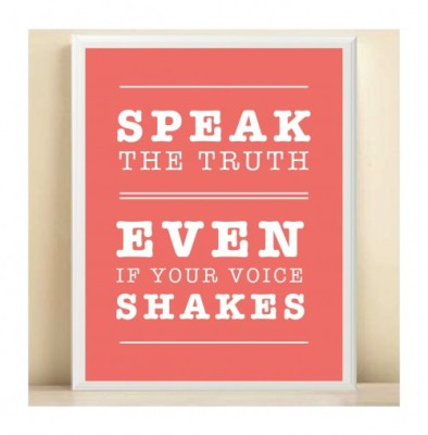 Speak your truth